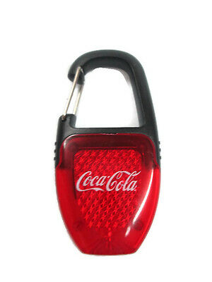 Coca-Cola Clip-on Reflector LED Safety Light - BRAND NEW
