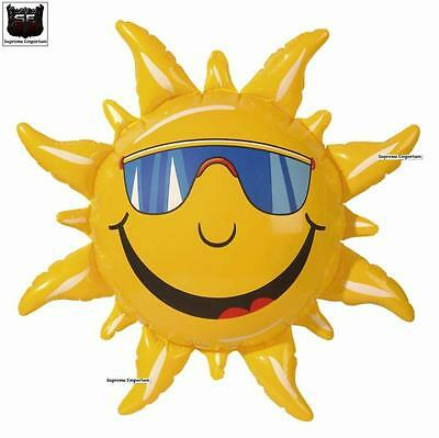 Supreme Inflatable Sun 60Cm Hawaiian Party Fancy Dress Prop New Festival Pool