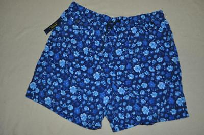 17194bbe679 SUPERDRY NAVY WATER Polo Style Swim Trunks Shorts Mens Small NWT ...
