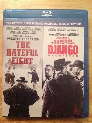 The Hateful Eight & Django Blu-ray   Double Feature(Blu Ray)Authentic US RELEASE