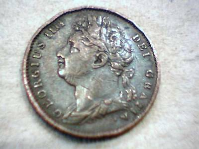 1853 British Victoria Copper Coin - Nice Detail and Color -- See Pics -- SZ14