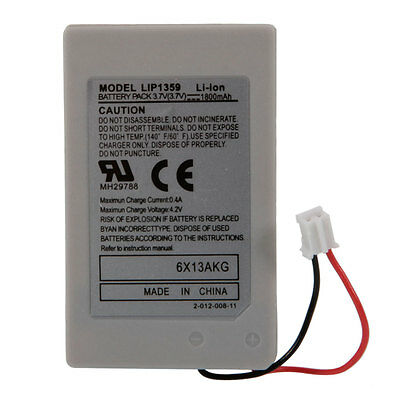 1800mAh Rechargeable Battery for Sony PlayStation 3 PS3 Controller IT