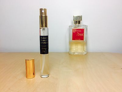 BACCARAT ROUGE 540 EDP by Maison Francis Kurkdjian - 10ml sample - 100% GENUINE