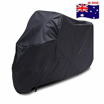 XL Waterproof Outdoor Motorcycle Motorbike Motor Bike Cruiser Scooter Cover AU