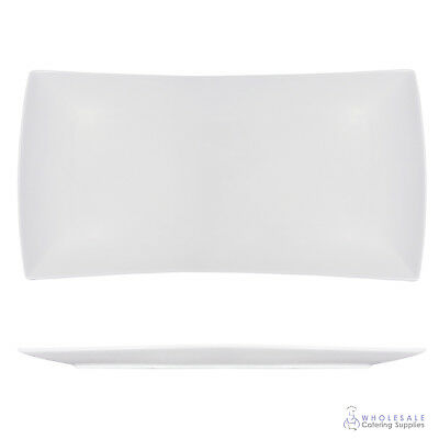 Plate 23x45cm Rectangle Maxwell & Williams White Bistro East Meets West