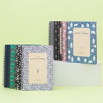 [2018 ARDIUM SPRING JOURNAL] Dated Daily Monthly Yearly Note Planner Calendar