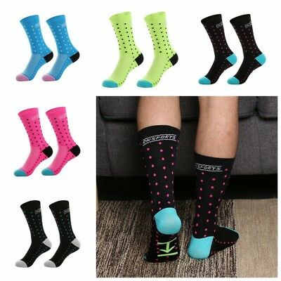 Fashion DH Sport Cycling Socks Professional Breathable Outdoor Sports Bike Socks