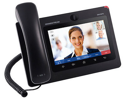 IP Phone Video VoIP SIP Telephone Grandstream GXV3275. Alone or with PBX system