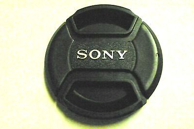 62mm Snap on Center Pinch Lens Cap Dust Cover Protector For Sony New