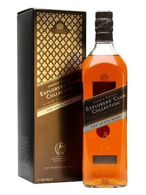 Explorers Club Collection the Spice Road Blended Johnnie Walker Scotch whisky 1L
