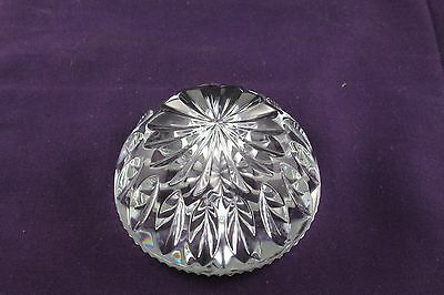 Waterford Nocturne Collection Crystal Paperweight  As New No Chips or Cracks
