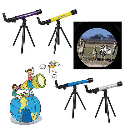 Puzzle Astronomical Space Telescope Set With Tripod for Children Kids Toys Gifts