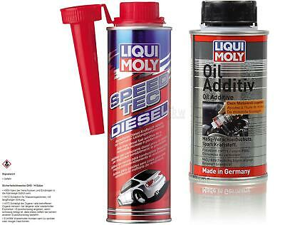 Original LIQUI MOLY  Set Speed Tec Diesel und Oil Additiv