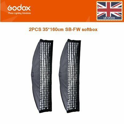 Cost price 2pcs Godox 35*160cm Grid Honeycomb Bowens Mount Softbox for Studio