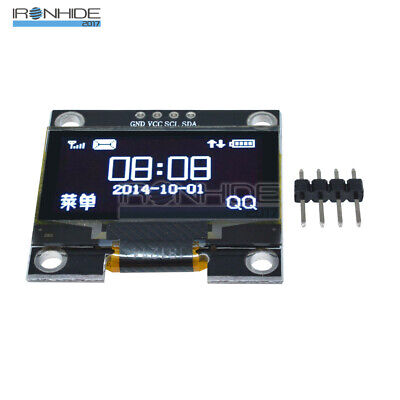 1.3 inch IIC I2C Serial 128x64 OLED LCD Display White Screen Modulo For Arduino