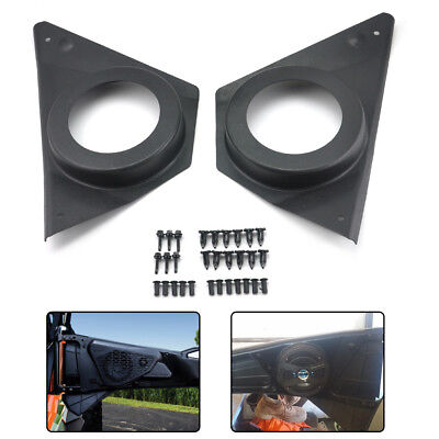 Left & Right Door Speaker Pod Set for 2015-2018 Polaris RZR 900S XP1000 ACE