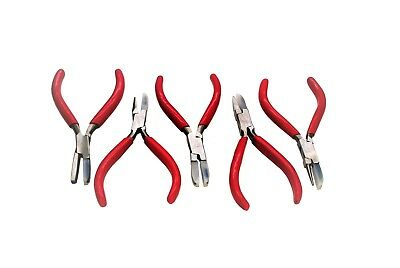 Proops Set of 5 Nylon Jaw Wire Forming Shaping Pliers Jewellery Making J2030