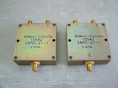 500 - 2000MHz splitter ZAPD-21-1 lot of 2 pcs