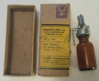 "Vintage American ""paint Pin Striping Applicator By Wendell Manufacturing"" W/ Box"