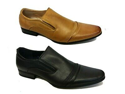 Mens Smart Lace Up Wedding Shoes Italian Formal Office Work Casual Size Uk 6 -11