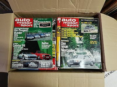 Auto Motor und Sport magazine, back issues 1951 - 1996
