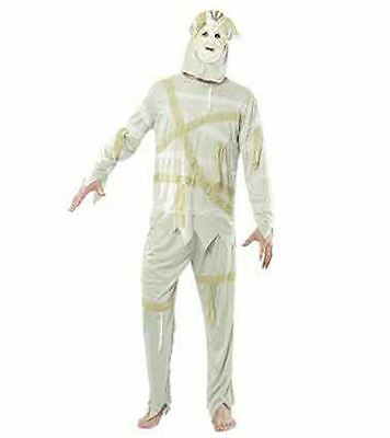 Mens Adult Scary Halloween Party Egyptian Undead Mummy Costume Boys Suit