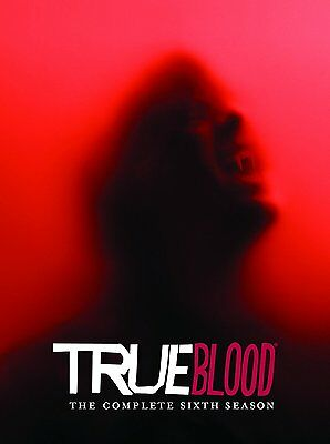 True Blood DVD Box Set Season 6 Six Complete TV Series Collection Sealed New UK