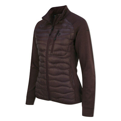Peak Performance Helium Hybrid Jacket with Duck Down in Mahogany