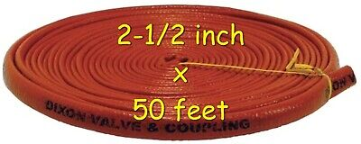DIXON 6410-40 Fire Jacket for Hose 2-1/2 inch x 50'
