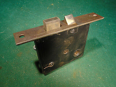 VINTAGE R & E RUSSELL & ERWIN MORTISE LOCK w/KEY - RECONDITIONED (8822-2)