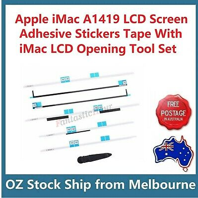 "Apple iMac 27"" A1419 LCD Screen Adhesive Strips Tape Stickers Set & Opening Tool"