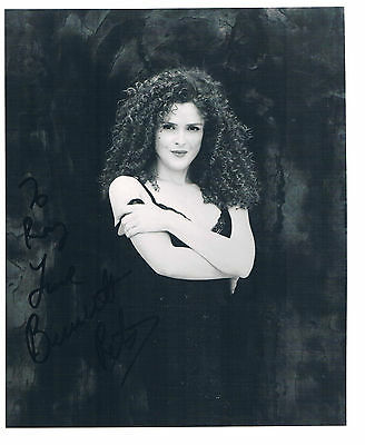 Bernadette Peters American Actress Singer and Author Studio Photograph  8 x 6