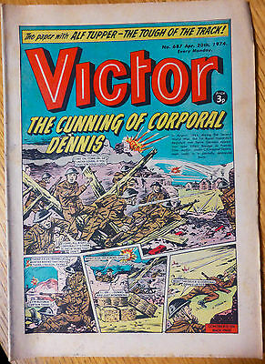The Victor (UK Comic) - Issue #687 (20th April 1974)