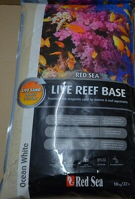 Red Sea Reef Base Live Sand Ocean White  0,25mm-1,5mm/Bodengrund