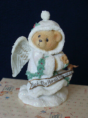 Cherished Teddies - Stormi - Angel With Muff Figurine - 176001 - 1996