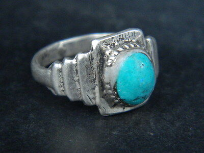 Antique Silver Ring With Stone 1900 AD    #STC263  ( WAREABLE)
