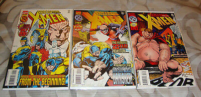 Professor Xavier and the X-Men #1-3 (1995) Marvel Comic Lot Of 3, NM-
