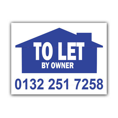 To Let By Owner Correx Signs Custom Estate Agent Boards Property X 2