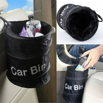 Wastebasket / Trash can Litter Container Car Auto Rv  Up Garbage Bin/Bag BF