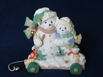 Cherished Teddies - Ursula And Bernhard - Snowbears Double Figurine - 848603