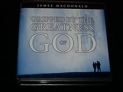 Gripped By The Greatness of God - MacDonald, James - 6 CD's - Like New & Free Sh