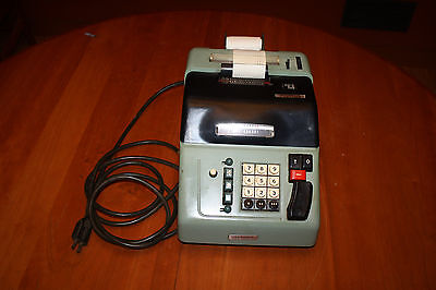 Vintage Olivetti Elettrosumma 22 Adding Machine Gerber Products Gently Used