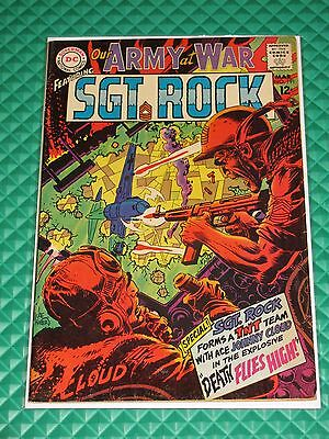 Our Army At War #191 Higher Mid-Grade Silver Age DC War Comic Sgt Rock Kubert