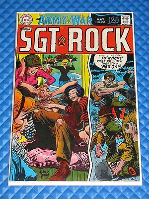 Sgt Rock #206 Higher Grade Silver Age DC War Comic Our Army At War Kubert (1969)