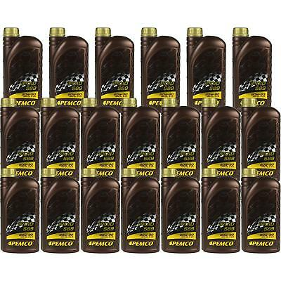 20x1 LITRE GENUINE Pemco Transmission Oil ipoid 589 80W-90 Gear Oil Oil