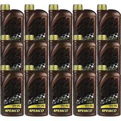 15x1 LITRE GENUINE Pemco Transmission Oil ipoid 595 75W-90 Gear Oil Oil