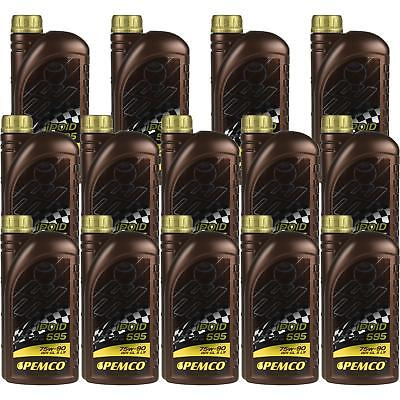 14x1 LITRE GENUINE Pemco Transmission Oil ipoid 595 75W-90 Gear Oil Oil