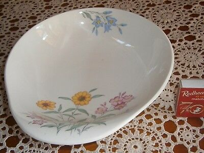 Delightful Clarice Cliff Royal Staffordshire Bowl, Pink Susan