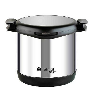 BIRTHDAY GIFT STAINLESS STEEL DOUBLE LAYER 6.8L THERMAL COOKER THERMO POT Cooker