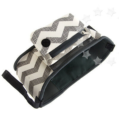 Pram Baby Changing Stroller Buggy Storage Pushchair Cup Organizer Bag Bottle
